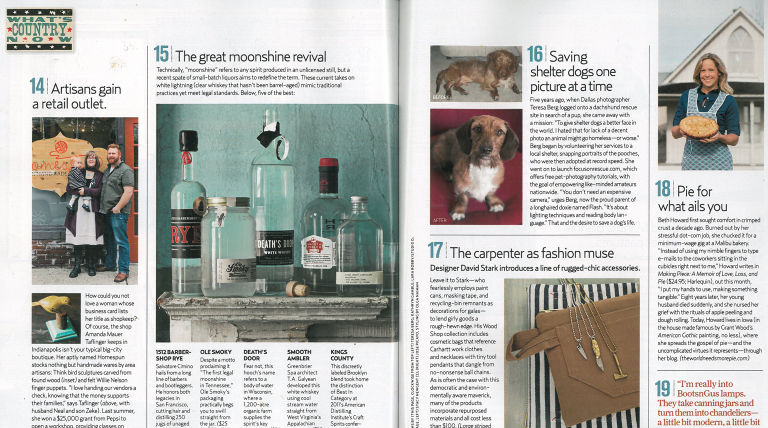 Country Living <br/> March 2012