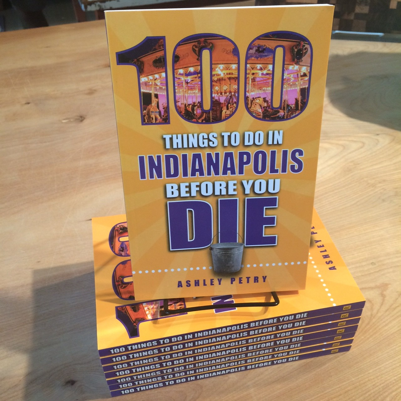 ... 11:30am- 2pm we will have author Ashley Petry in the store to do a book  signing for her recent book 100 Things to do in Indianapolis Before You Die.