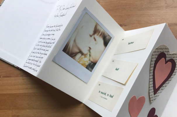 How-To: Valentine's Day Accordion Book