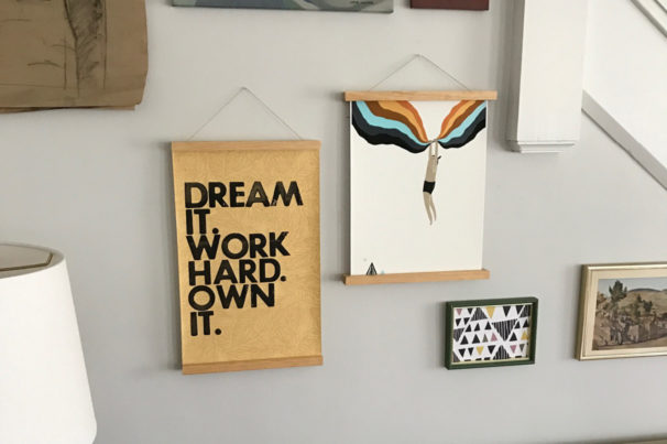 How-To: Wooden Print Frame