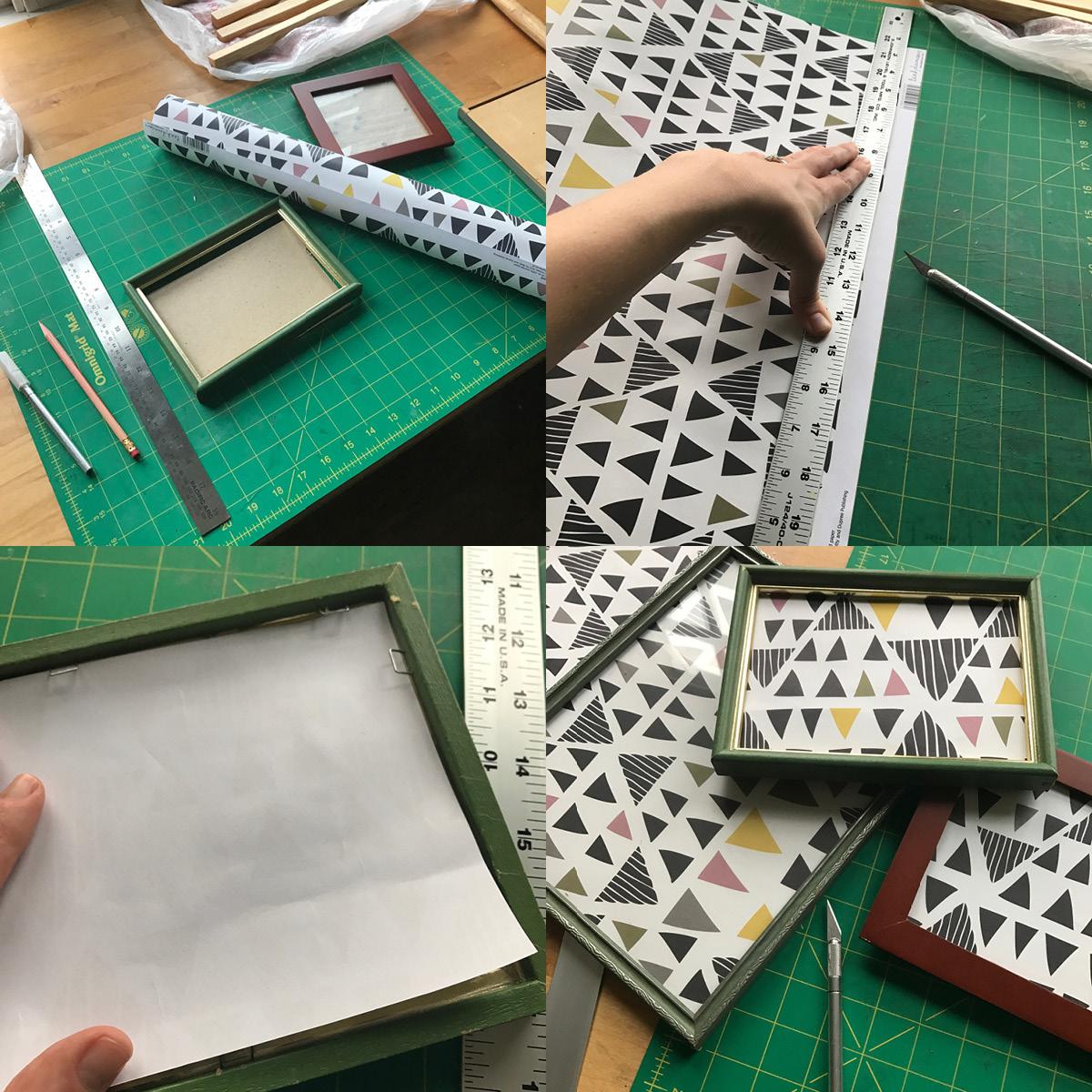 How-To: Wooden Print Frame - Homespun Modern