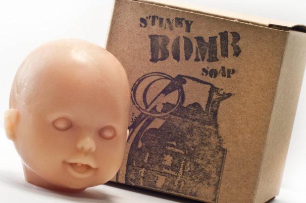 Meet Your Maker: Stinkybomb Soap