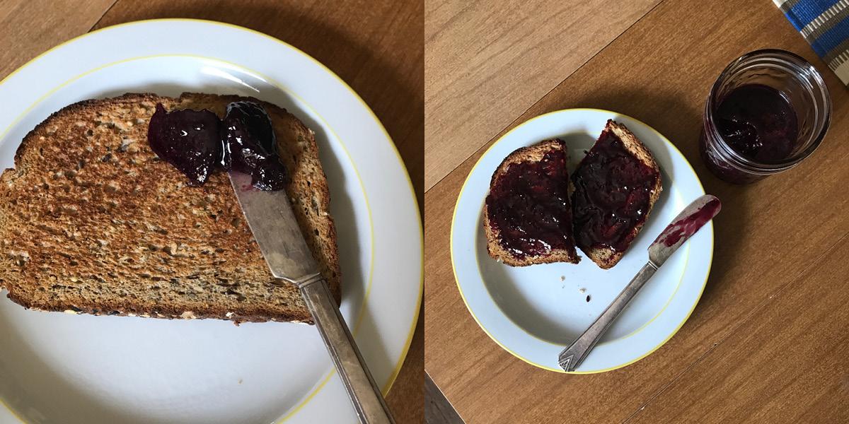 jam, bread, spread, fall jam, grape, concord, how to