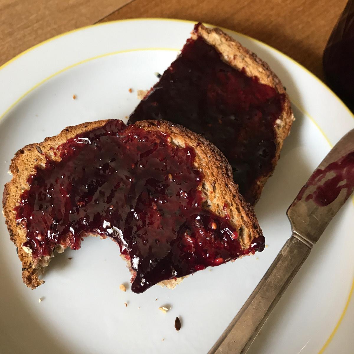 jam, grapes, fall, how to make concord grape jam
