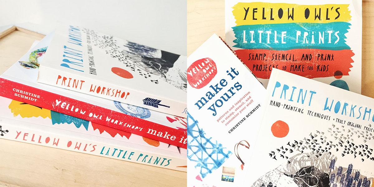 Yellow Owl Workshop DIY Books at Homespun: Modern Handmade