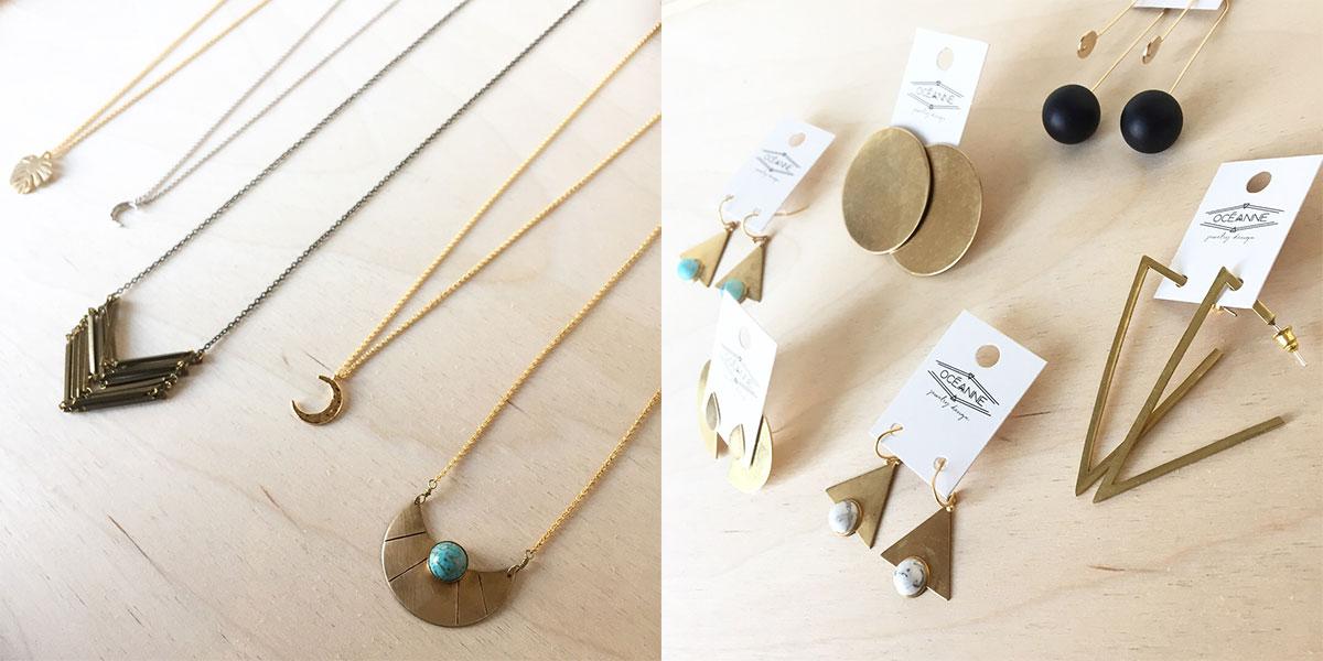Oceanne Jewelry at Homespun: Modern Handmade