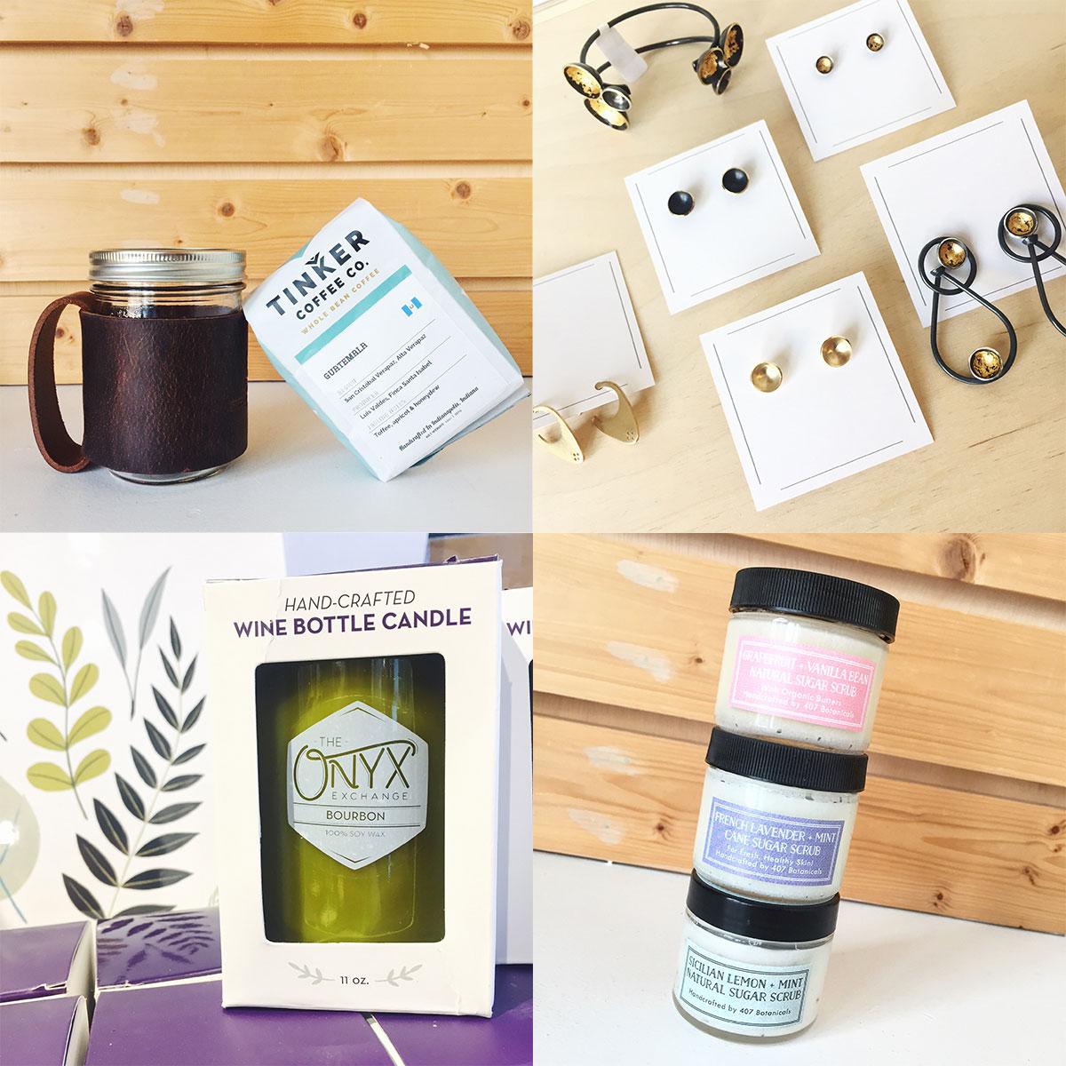 Handmade gifts at Homespun: Modern Handmade