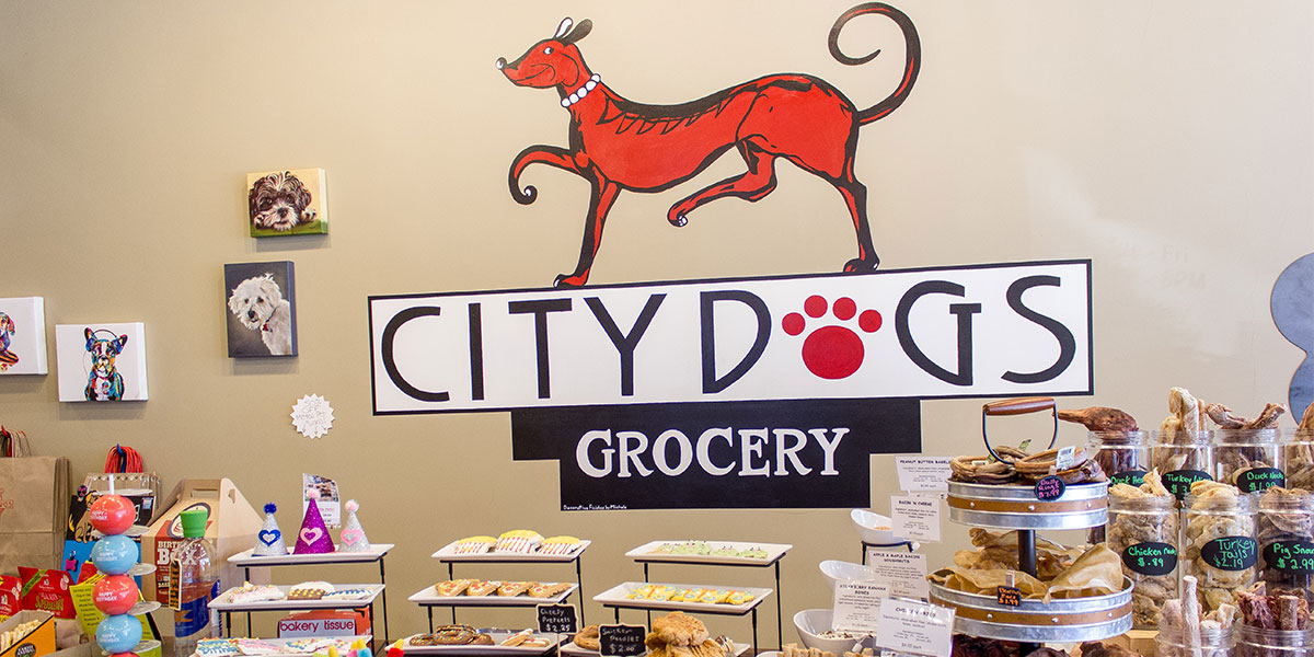 Mass Ave East End: City Dogs Grocery