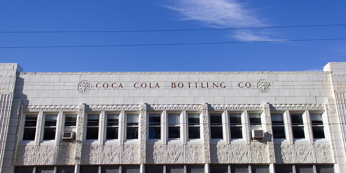 Mass Ave East End: Coca Cola Bottling Co. Building