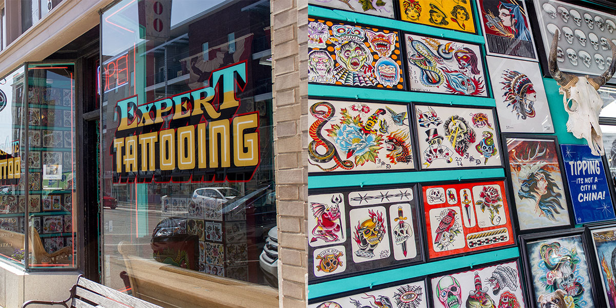 Mass Ave East End: Tattoo 2