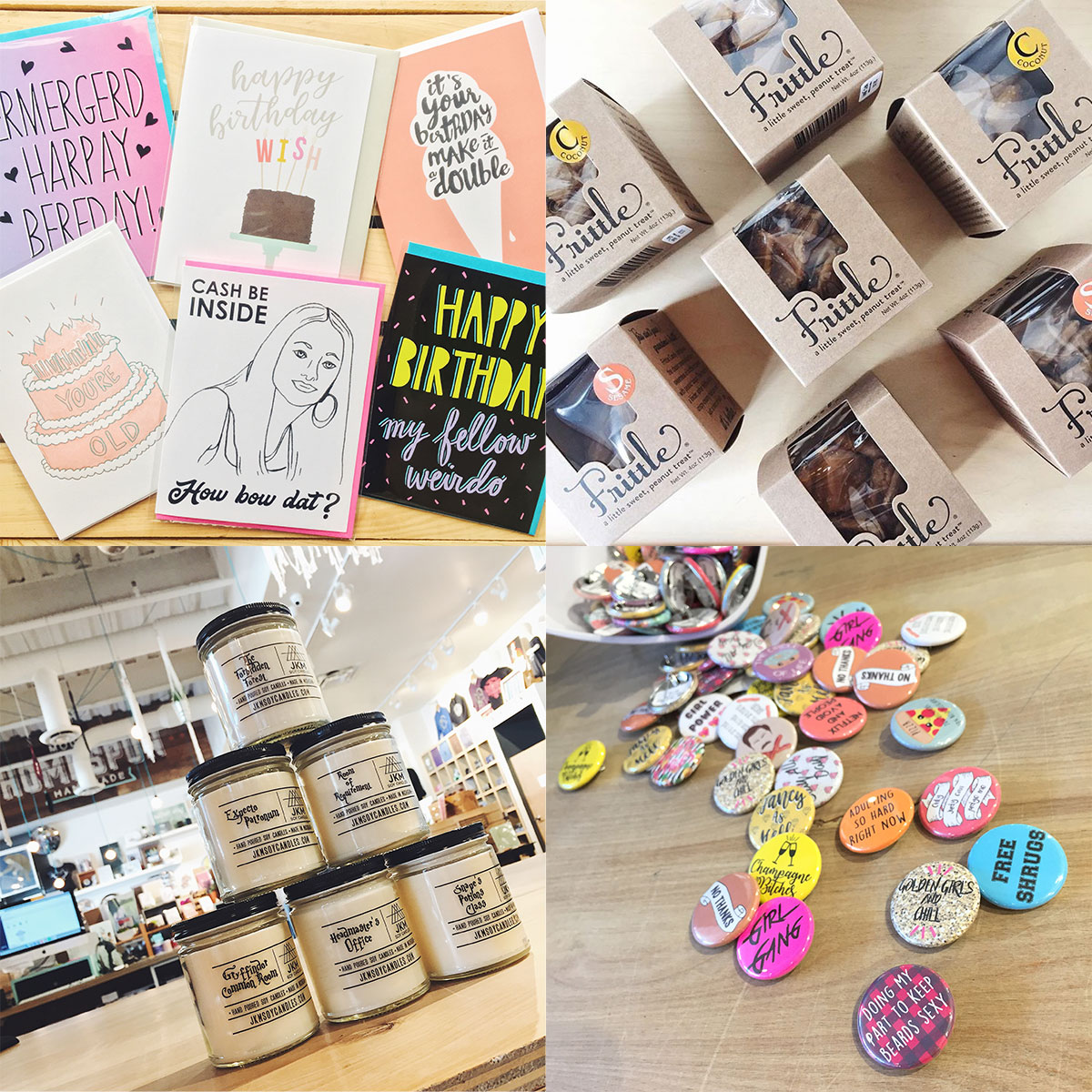 ICYMI April 13 shop handmade cards, artisanal foods, and novelties at Homespun: Modern Handmade