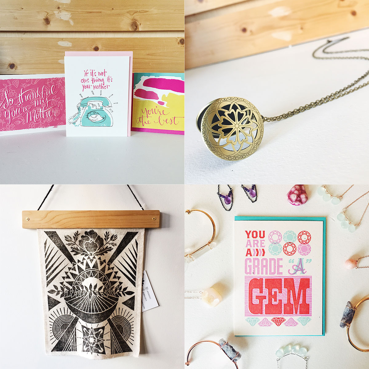 ICYMI May 4 : Handmade Mother's Day gift ideas at Homespun: Modern Handmade