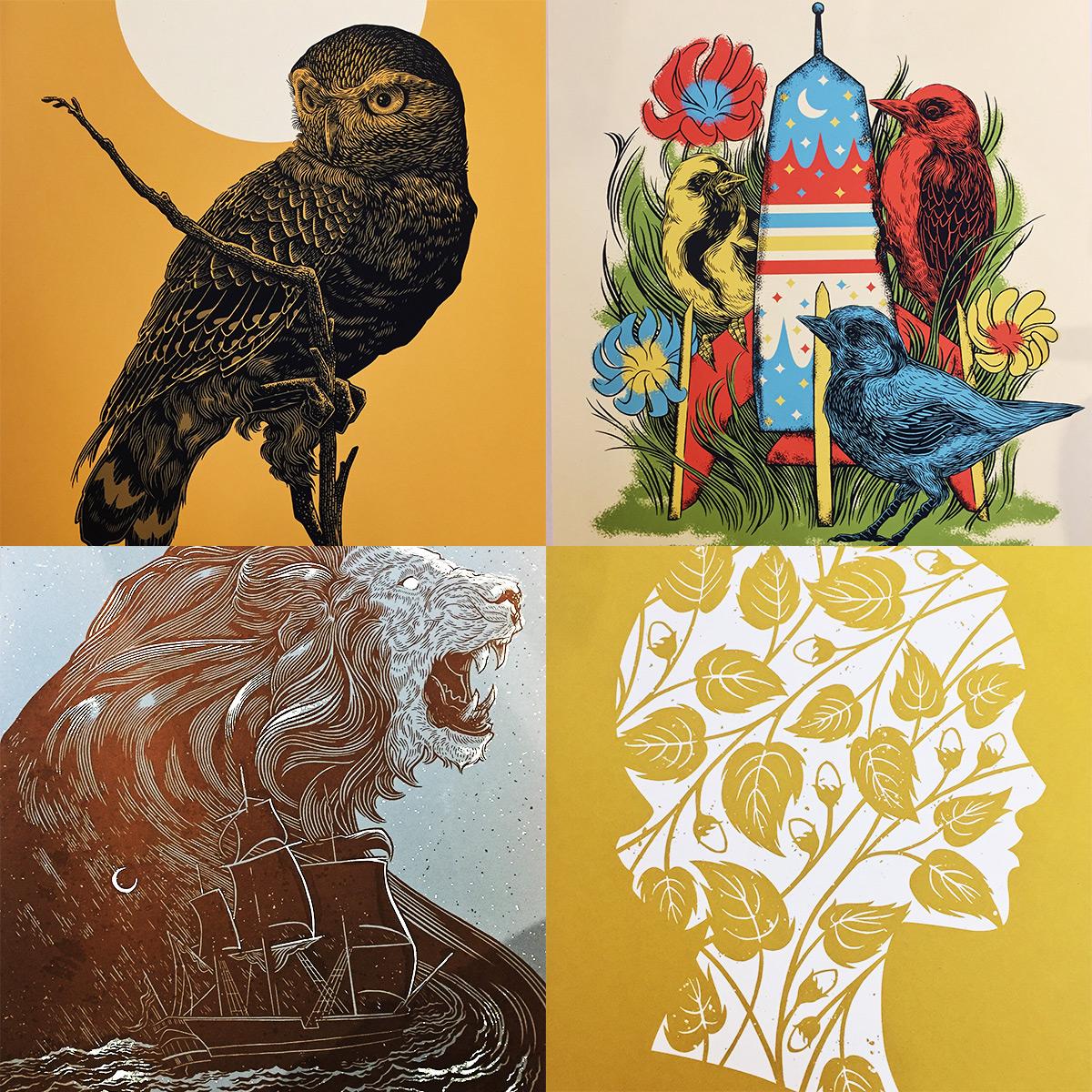 ICYMI July 19 Bungaloo Art Prints at Homespun