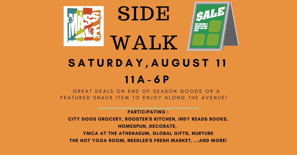 ICYMI August 3 Homespun Modern Handmade Sidewalk Sale