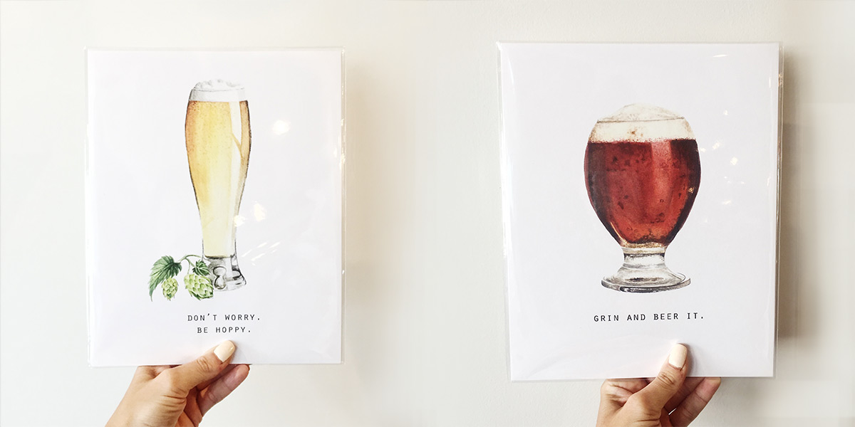 ICYMI July 13 Food Family Story beer prints at Homespun