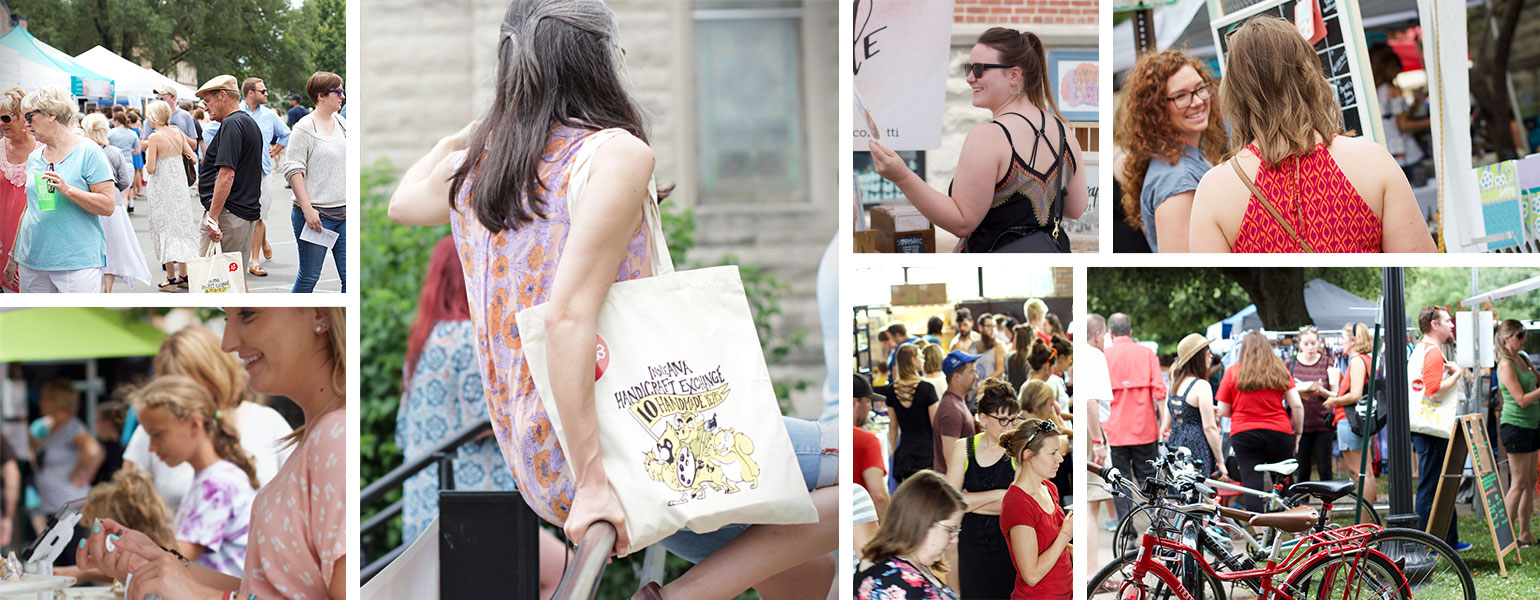 ICYMI August 3 Homespun Modern Handmade INDIEana Handicraft Exchange