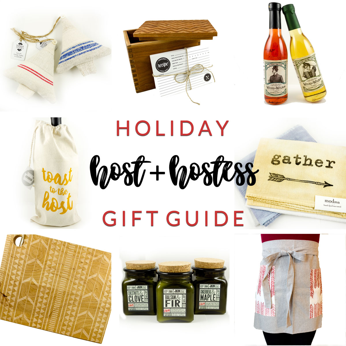 Host Hostess Holiday Gift Guide at Homespun Indianapolis