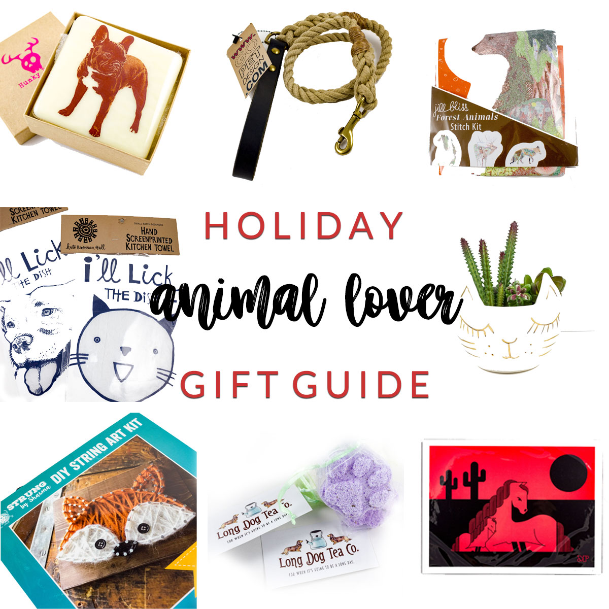 The Animal Lover Holiday Gift Guide at Homespun