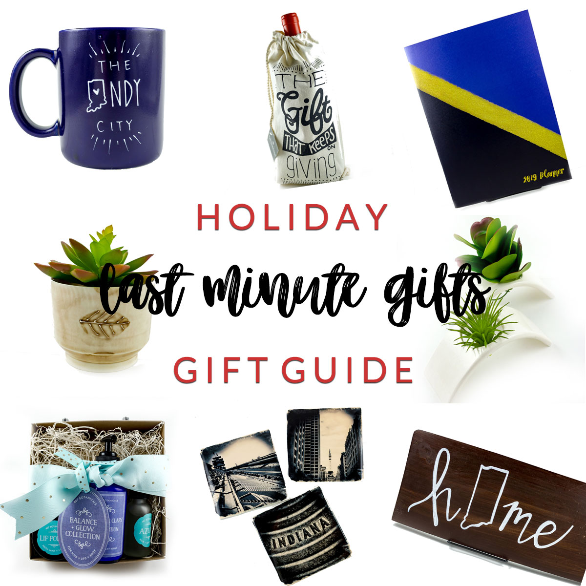 last minute gifts holiday gift guide homespun indianapolis