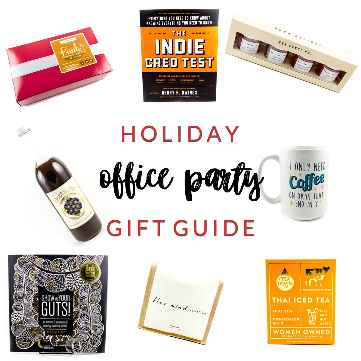 Office Party Holiday Gift Guide Homespun Indianapolis