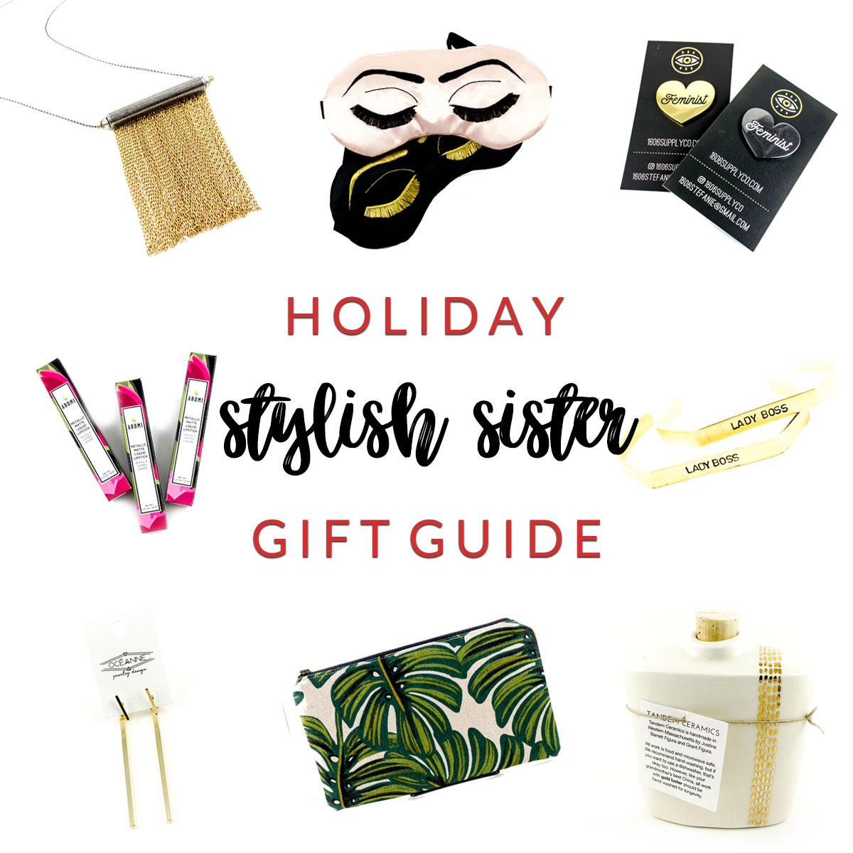 Stylish Sister Holiday Gift Guide at Homespun Indianapolis