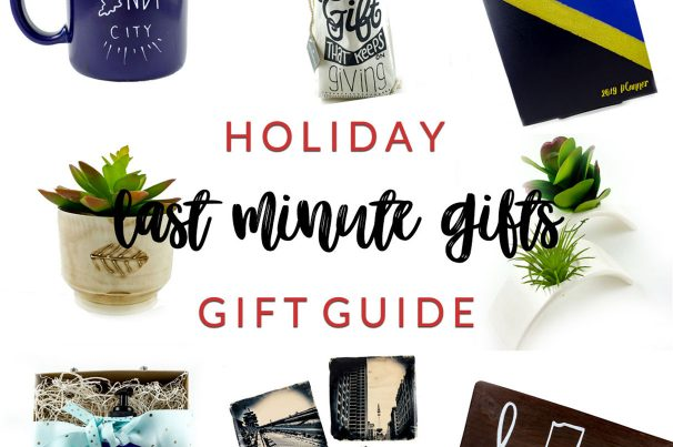 Last Minute Gifts <br> Holiday Gift Guide