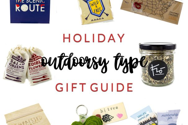Outdoorsy Type <br> Holiday Gift Guide