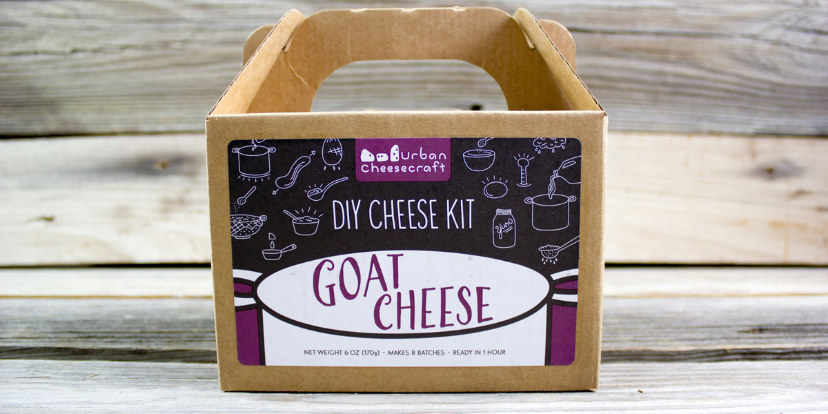 DIY, kit, cheese, make at home, goat cheese