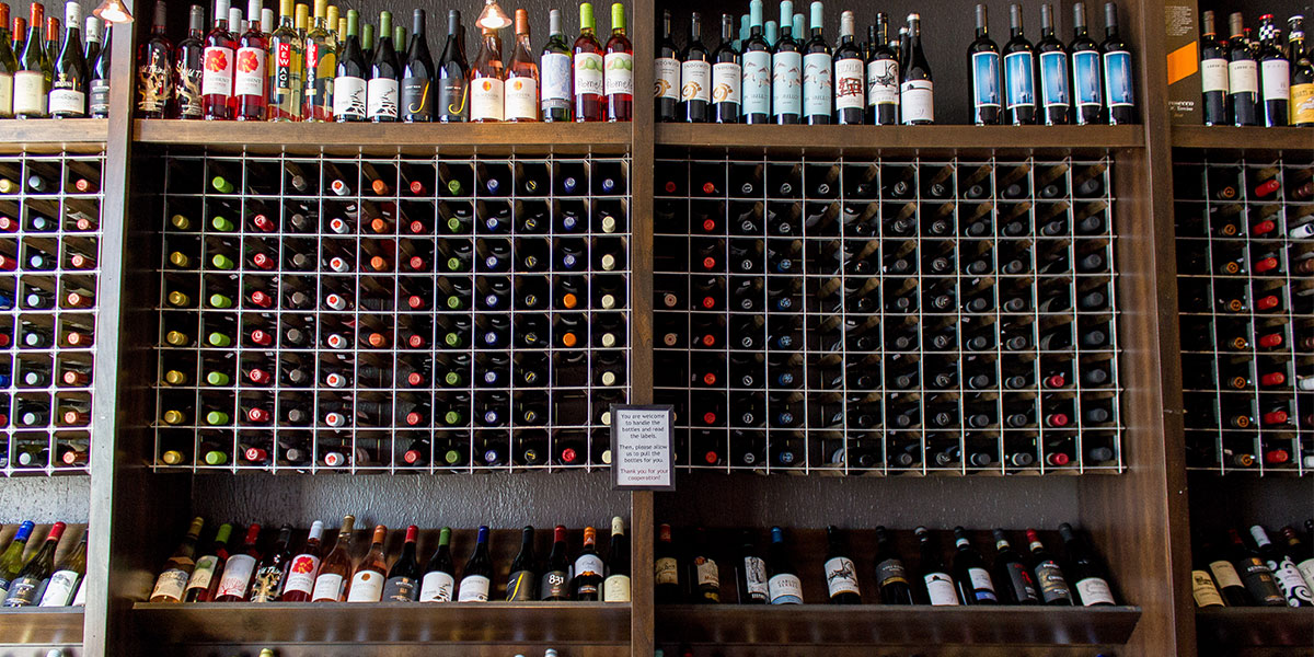 Mass Ave East End: Wine Shop