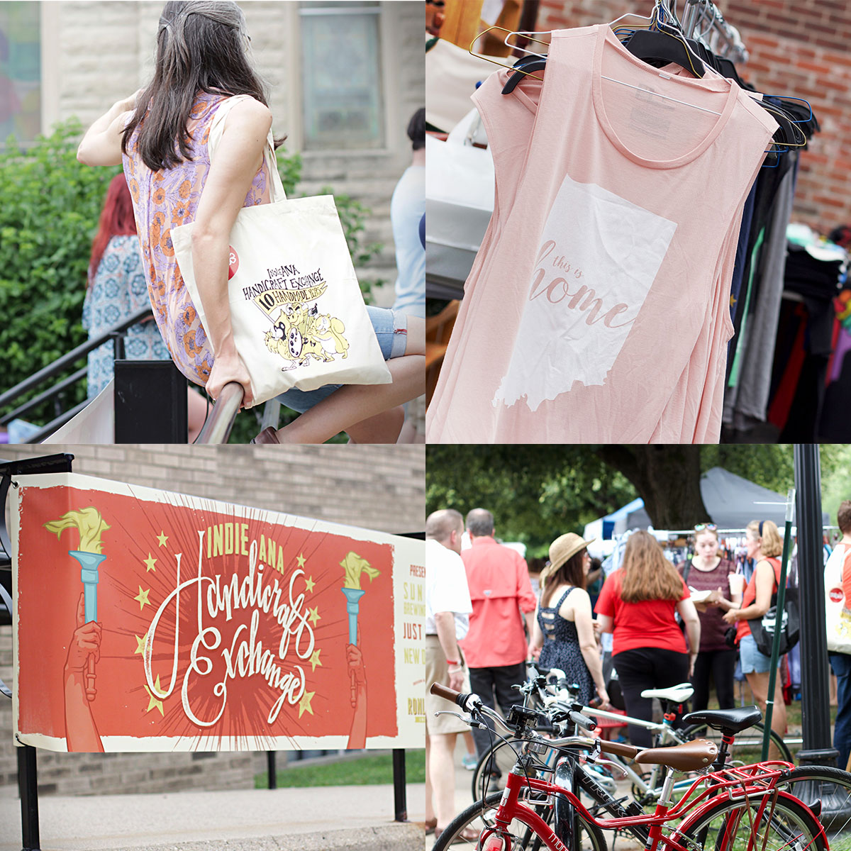 INDIEana Handicraft Exchange 2018 Summer Show at Harrison Center on June 16, 12pm-8pm.