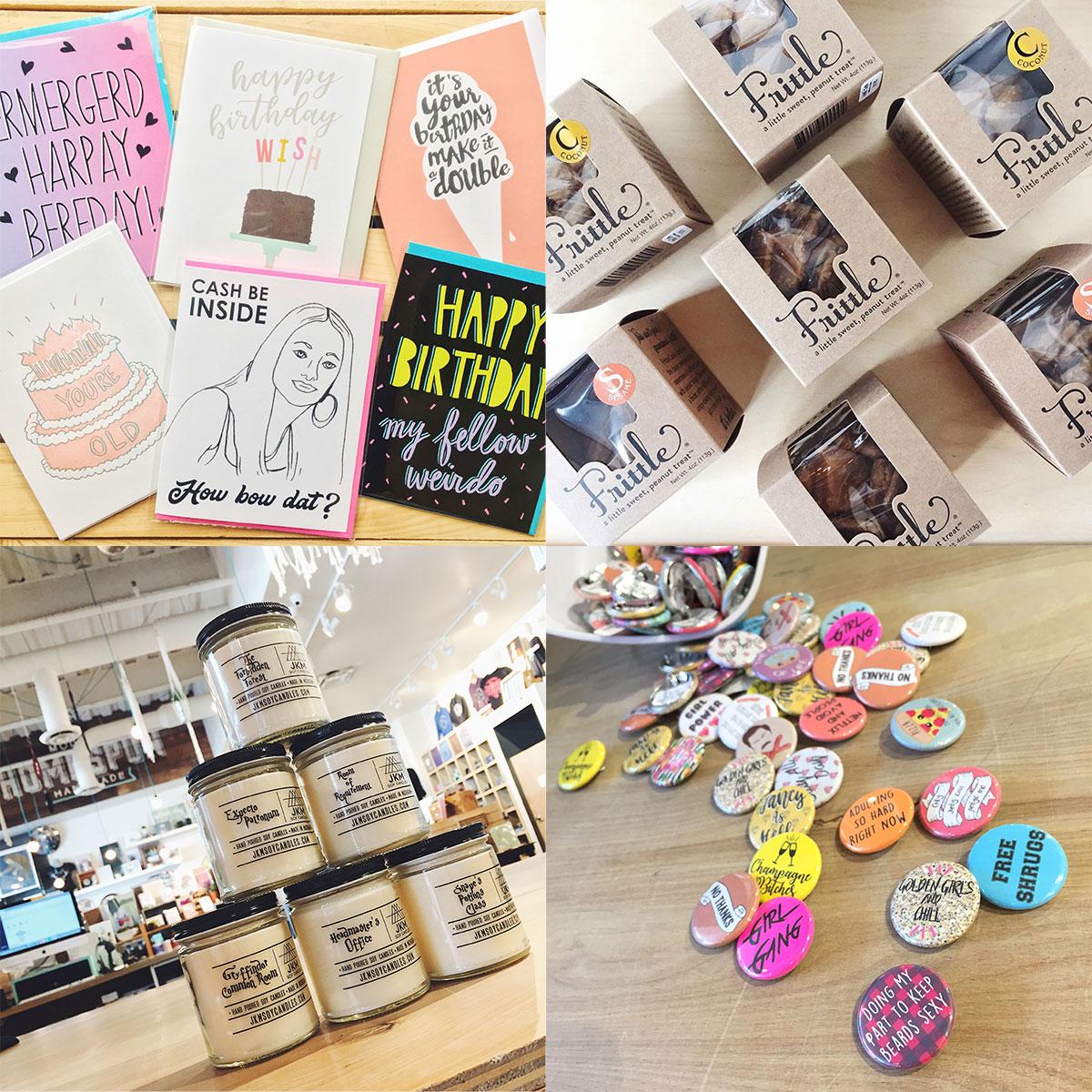 ICYMI April 13 shop handmade cards, artisanal foods, and novelties at Homespun: Modern Handmade