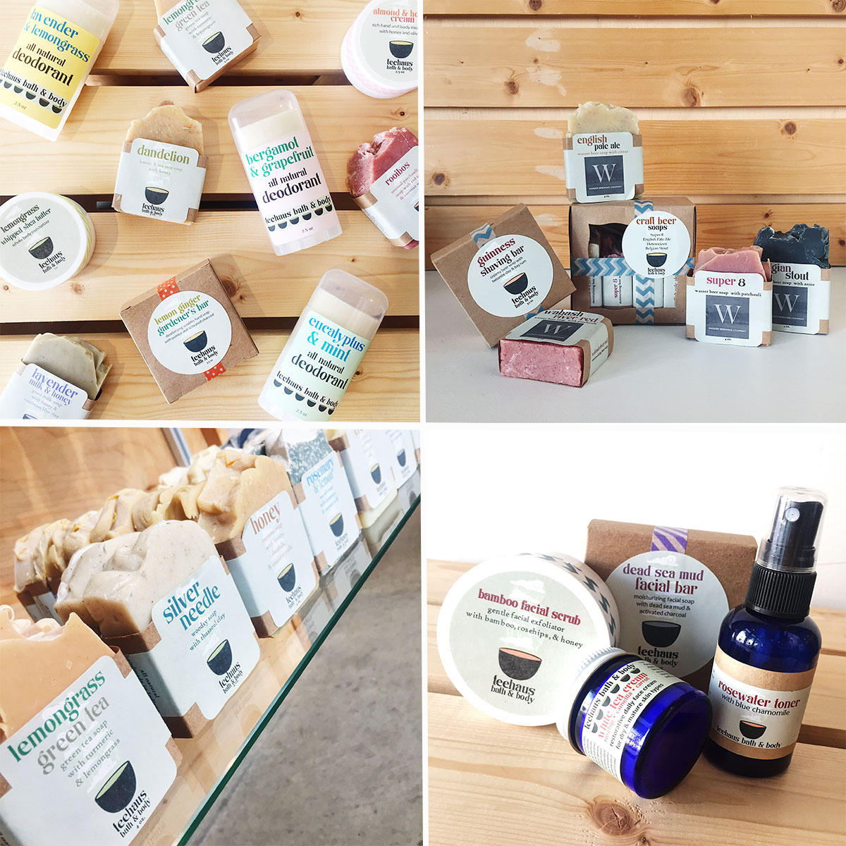 Teehaus Bath and Body at Homespun Modern Handmade