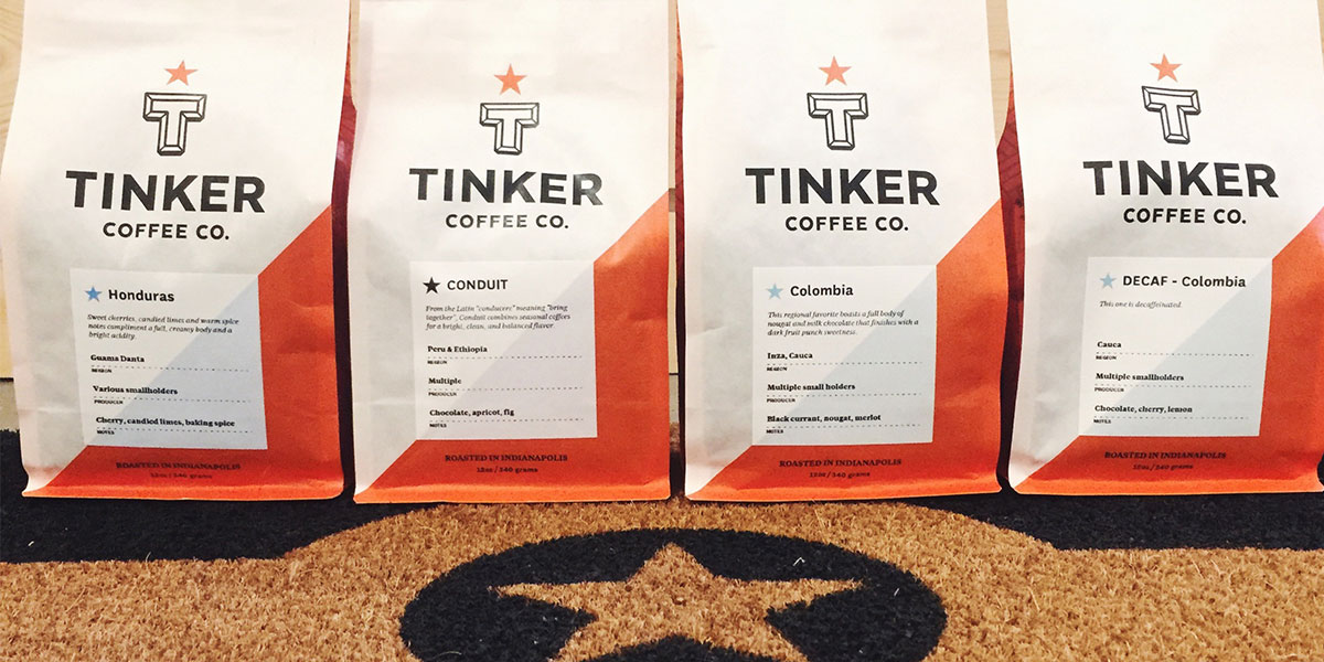 ICYMI May 4 : Tinker Coffee at Homespun: Modern Handmade