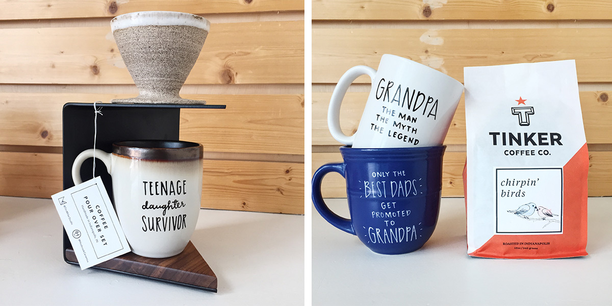 ICYMI June 8 Father's Day cards and mugs at Homespun: Modern Handmade