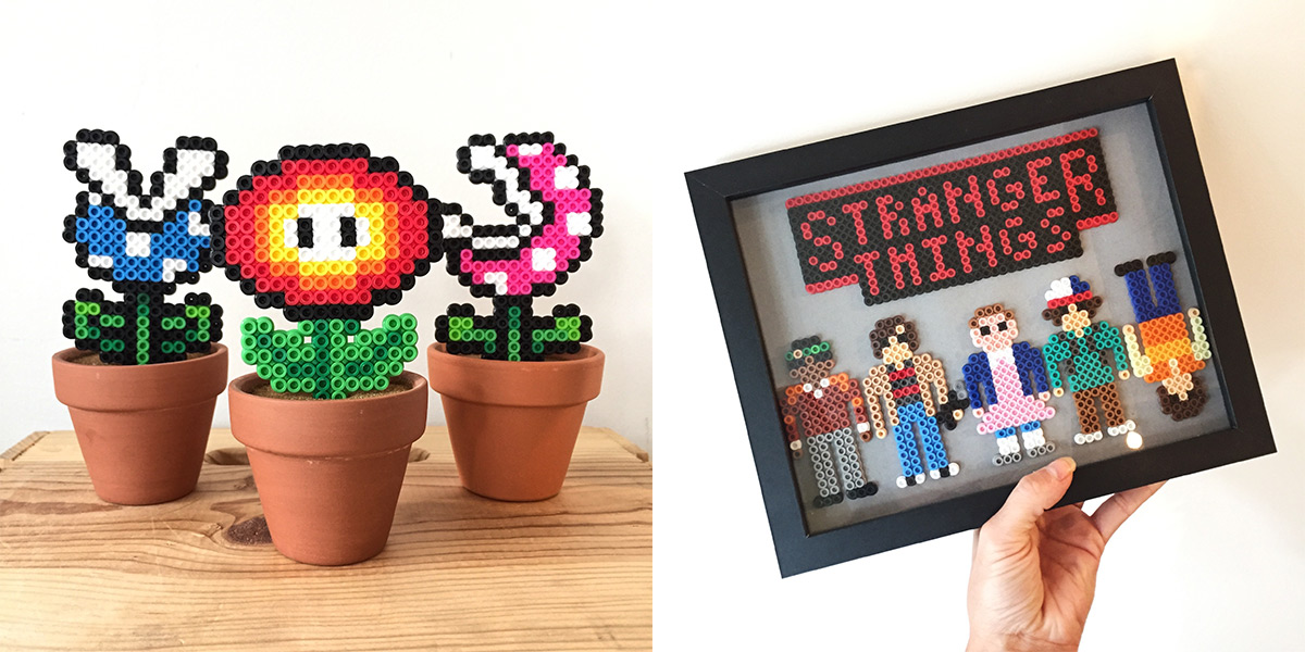 ICYMI June 22 Perler Tricks art at Homespun: Modern Handmade