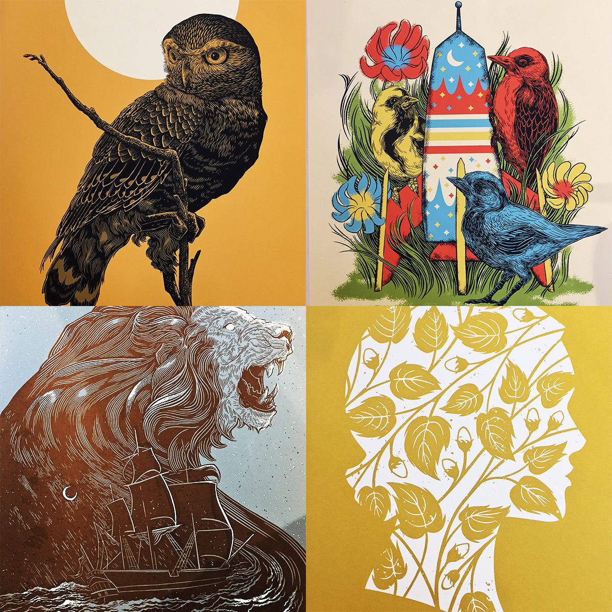 ICYMI July 19 Bungaloo Art Prints at Homespun