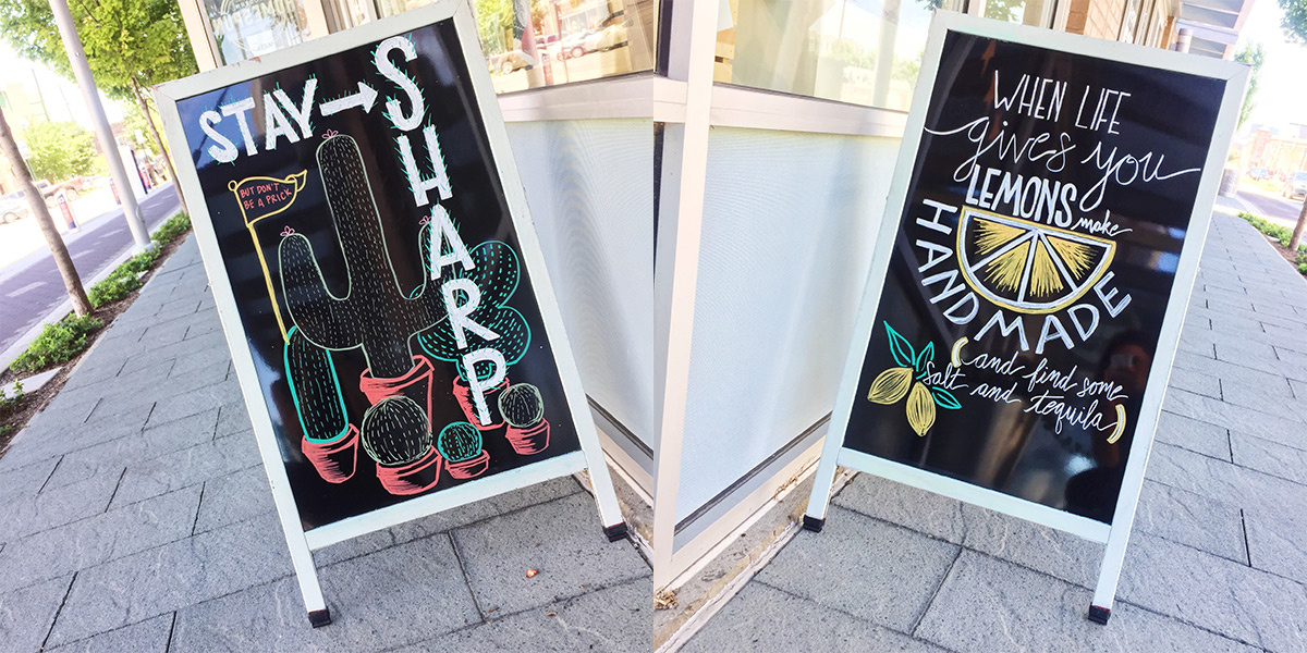 ICYMI July 19 Chalkboards at Homespun