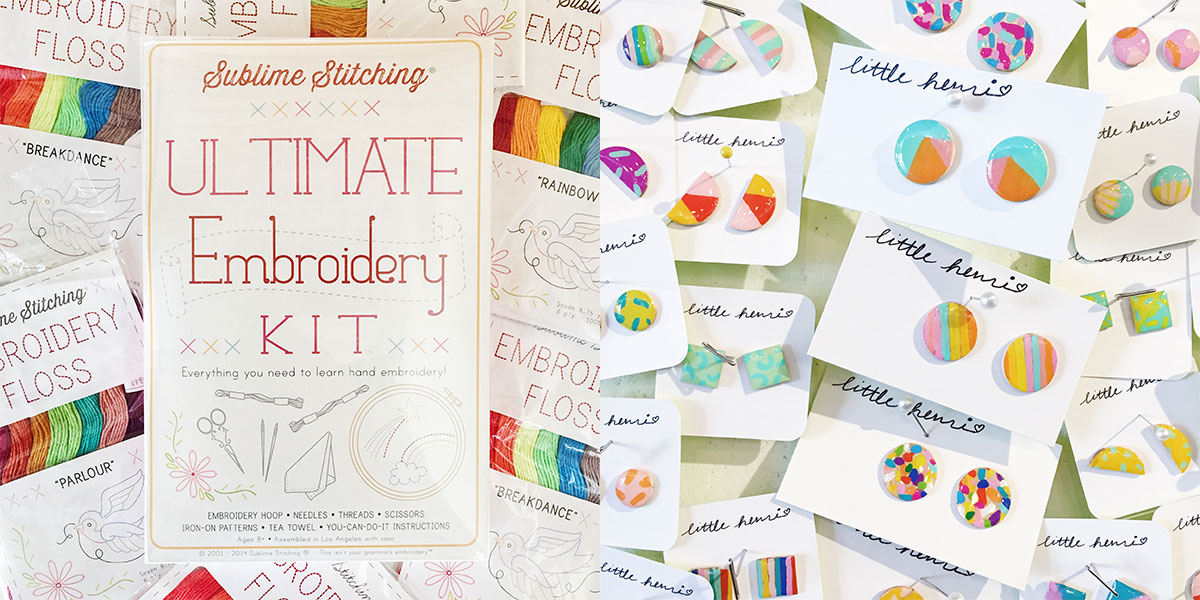 ICYMI August 24 Homespun Modern Handmade DIY Kits