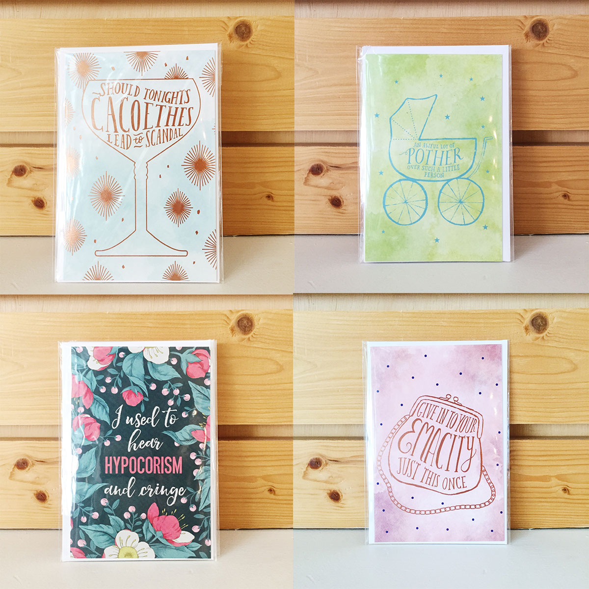 ICYMI August 3 Homespun Modern Handmade cards