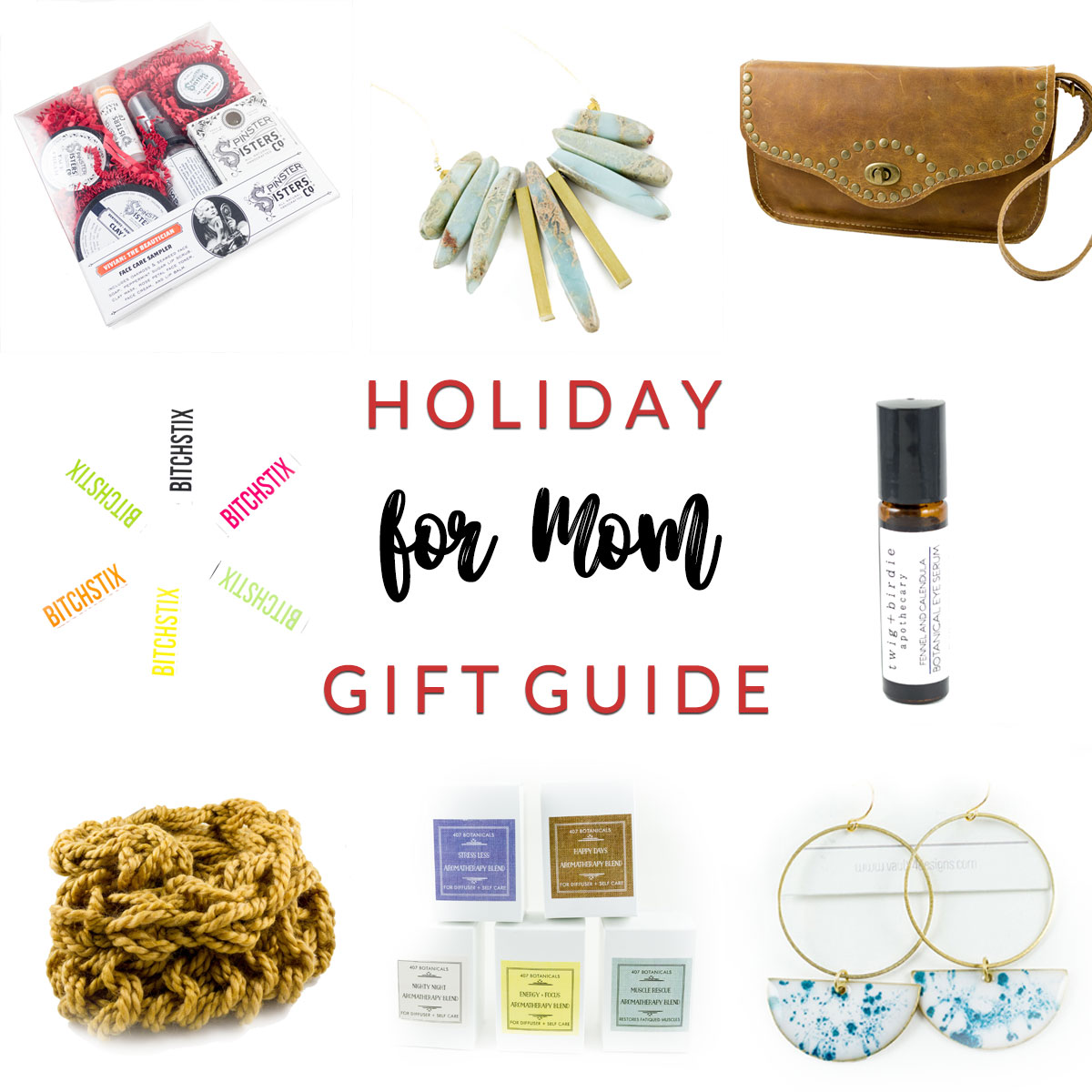 For Mom Holiday Gift Guide at Homespun Indianapolis