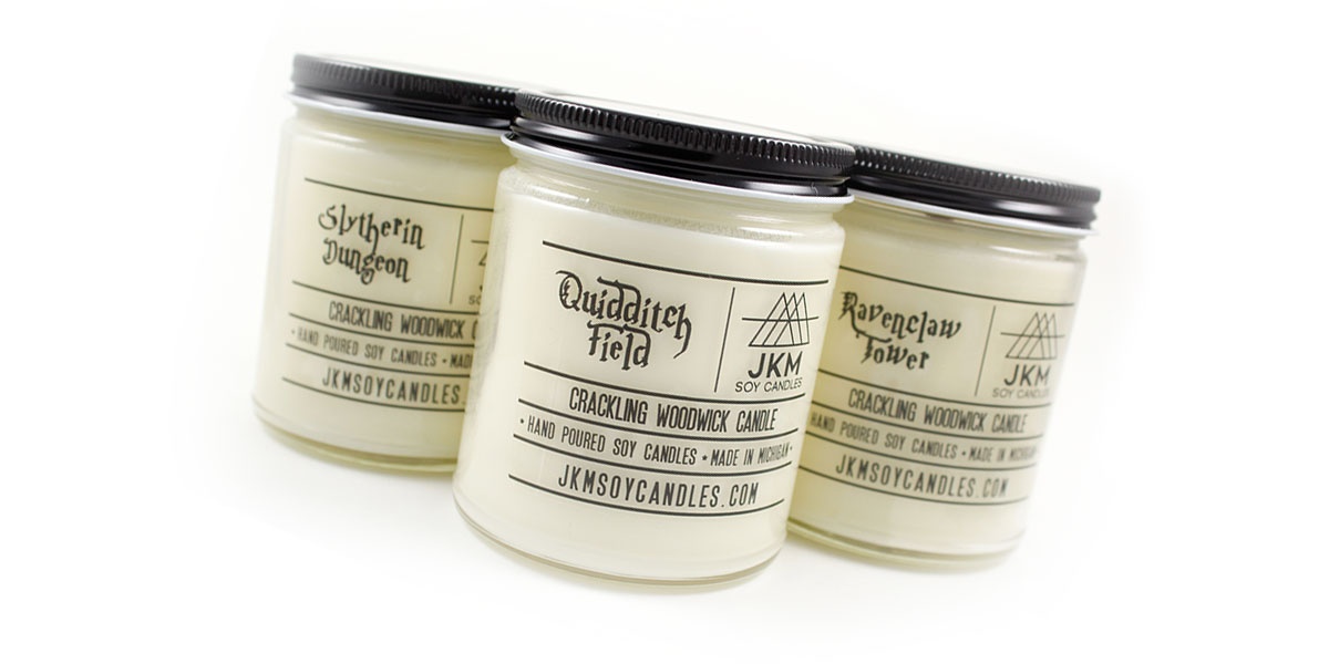 the geek holiday gift guide at homespun wizard candles