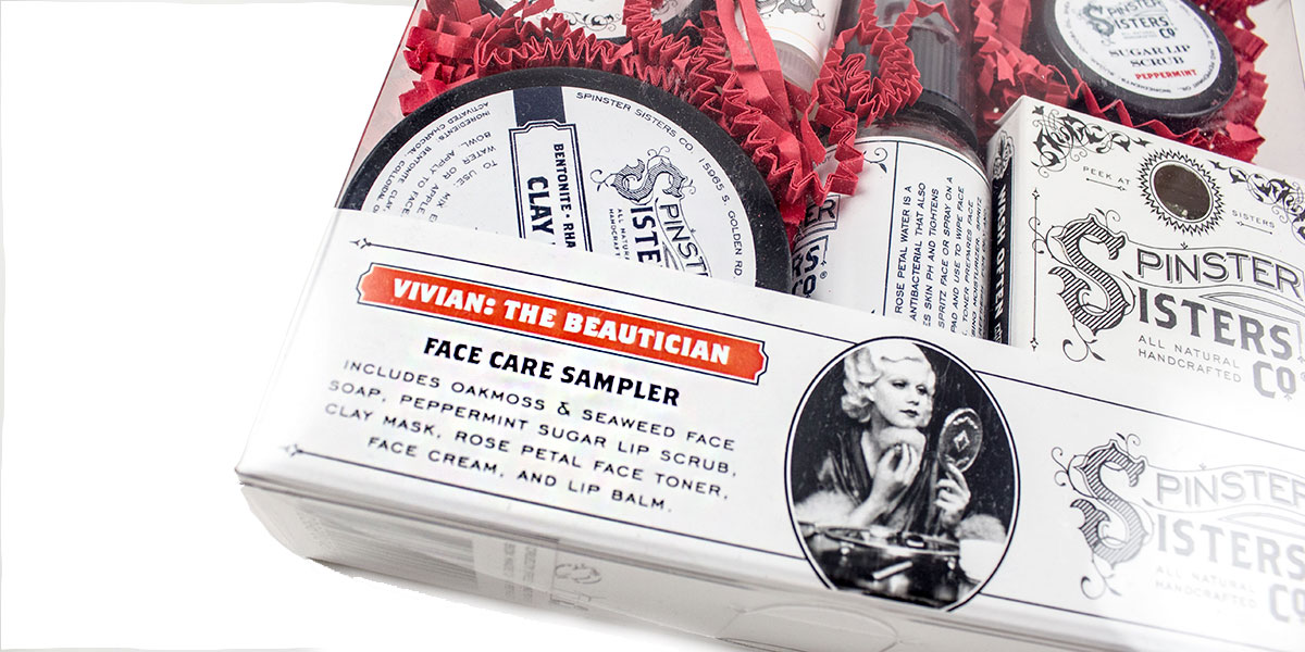 For Mom Holiday Gift Guide at Homespun Indianapolis Face Care Sampler
