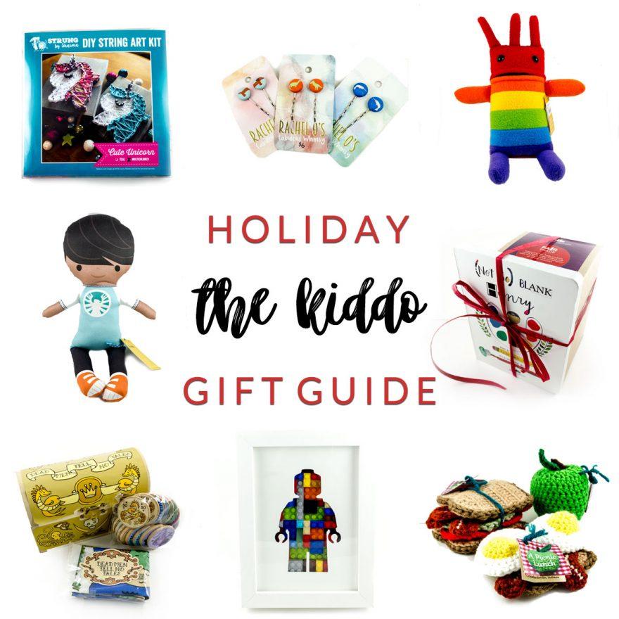 for kiddo holiday gift guide at Homespun