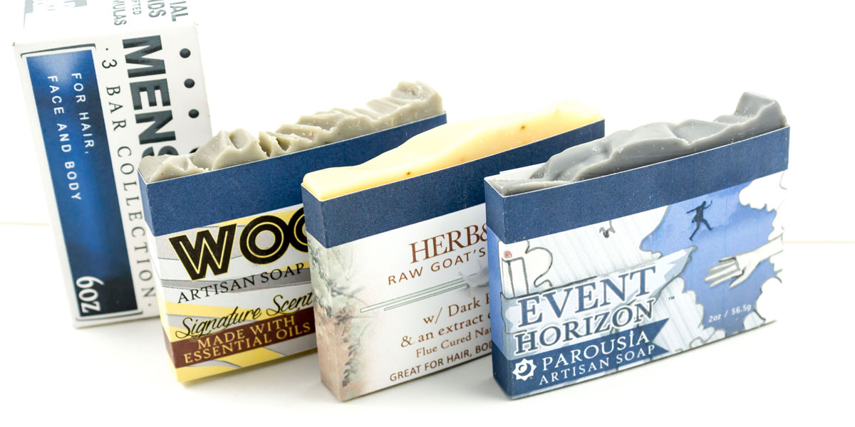Dapper Dude Holiday Gift Guide Homespun Men's Soap