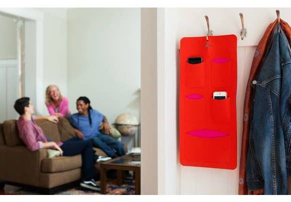 mobilhome Is A Stylish Family Tech Organizer